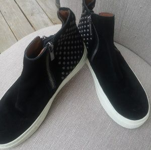 New Lucky Brand Studded Sneakers